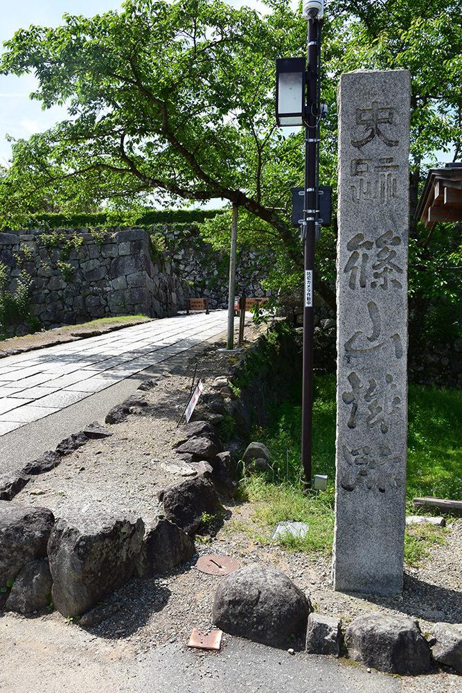 丹波国篠山城跡を歩く。 その1 ~内堀~_e0158128_16110660.jpg