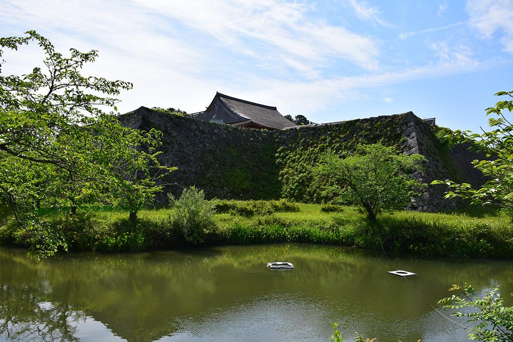 丹波国篠山城跡を歩く。 その1 ~内堀~_e0158128_16212975.jpg