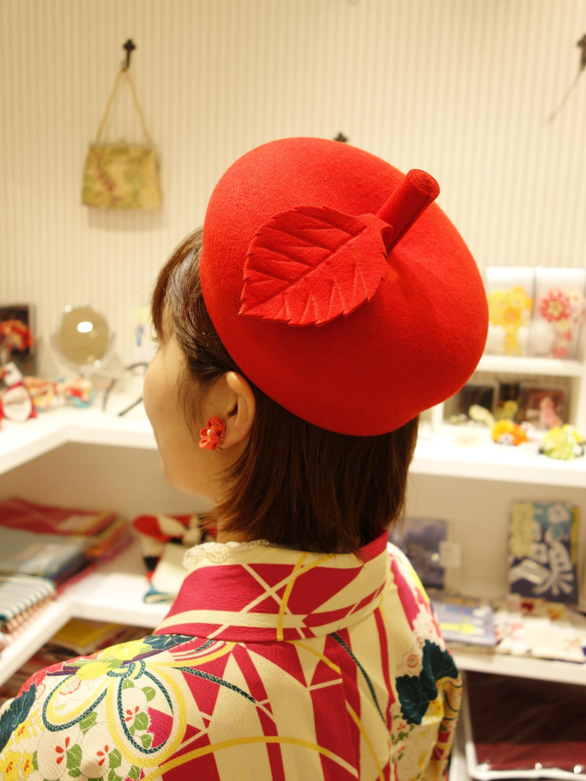 Chapon新作帽子*入荷しました*_e0167832_17585260.jpg