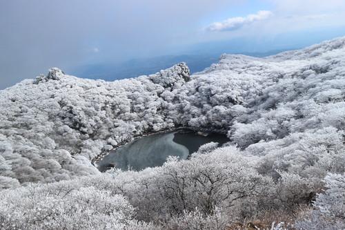 令和元年・大船山御池の霧氷に大感動!_e0272335_812761.jpg