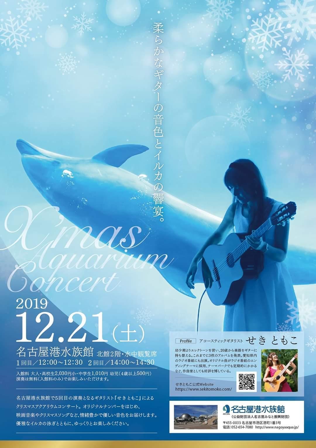 名古屋港水族館クリスマスアクアリウムコンサート2019_f0373339_16195598.jpg