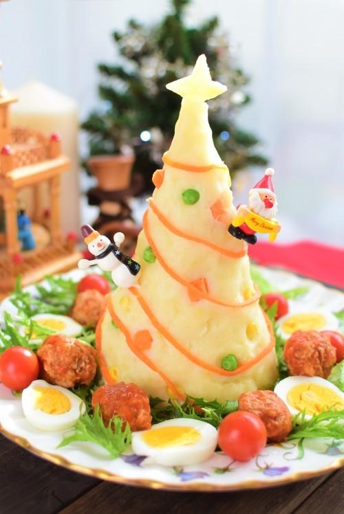 ポテトサラダとミートボールでクリスマス☆_f0318142_13172010.jpg