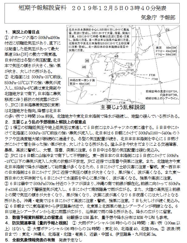 新潟県降雪量予報(2019年12月5日AM/PM) 夕方更新しました_e0037849_08040518.png