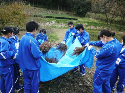 熊本県立菊池高等学校の生徒さんたちが研修にやってきました!(2019/前編)_a0254656_18260627.jpg
