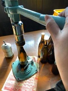 「特別純米 GOLDラベル 酒カップ」瓶詰など_d0007957_23461331.jpg