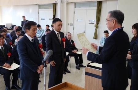 藤沢土木事務所より所長顕彰をされました。_b0170161_15144106.jpg