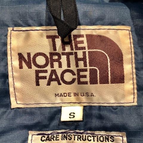 "1970-80s \"" THE NORTH FACE - 茶タグ - \"" NYLON RIP-STOP vintage SIERRA DOWN JACKET ._d0172088_21332885.jpg"