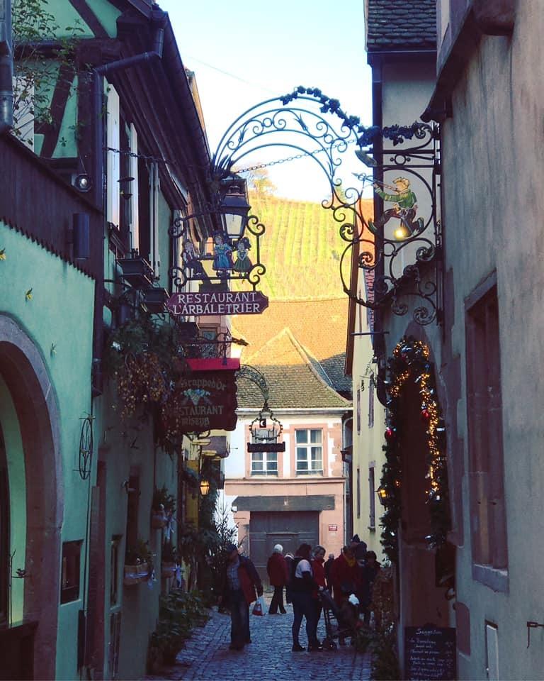 クリスマスマーケット巡りⅤ Riquewihrリクヴィル_a0100596_13332995.jpg