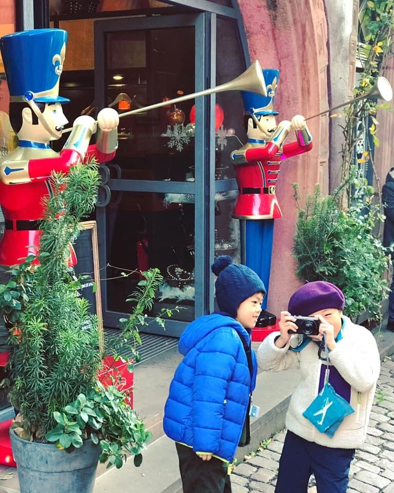 クリスマスマーケット巡りⅤ Riquewihrリクヴィル_a0100596_13351421.jpg