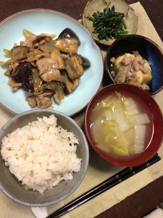 ナスの味噌炒め_d0235108_21541130.jpg