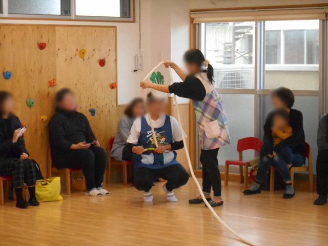 くま組 保育参観と給食懇談会_e0148419_1556531.jpg
