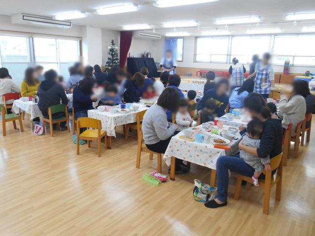 くま組 保育参観と給食懇談会_e0148419_164211.jpg