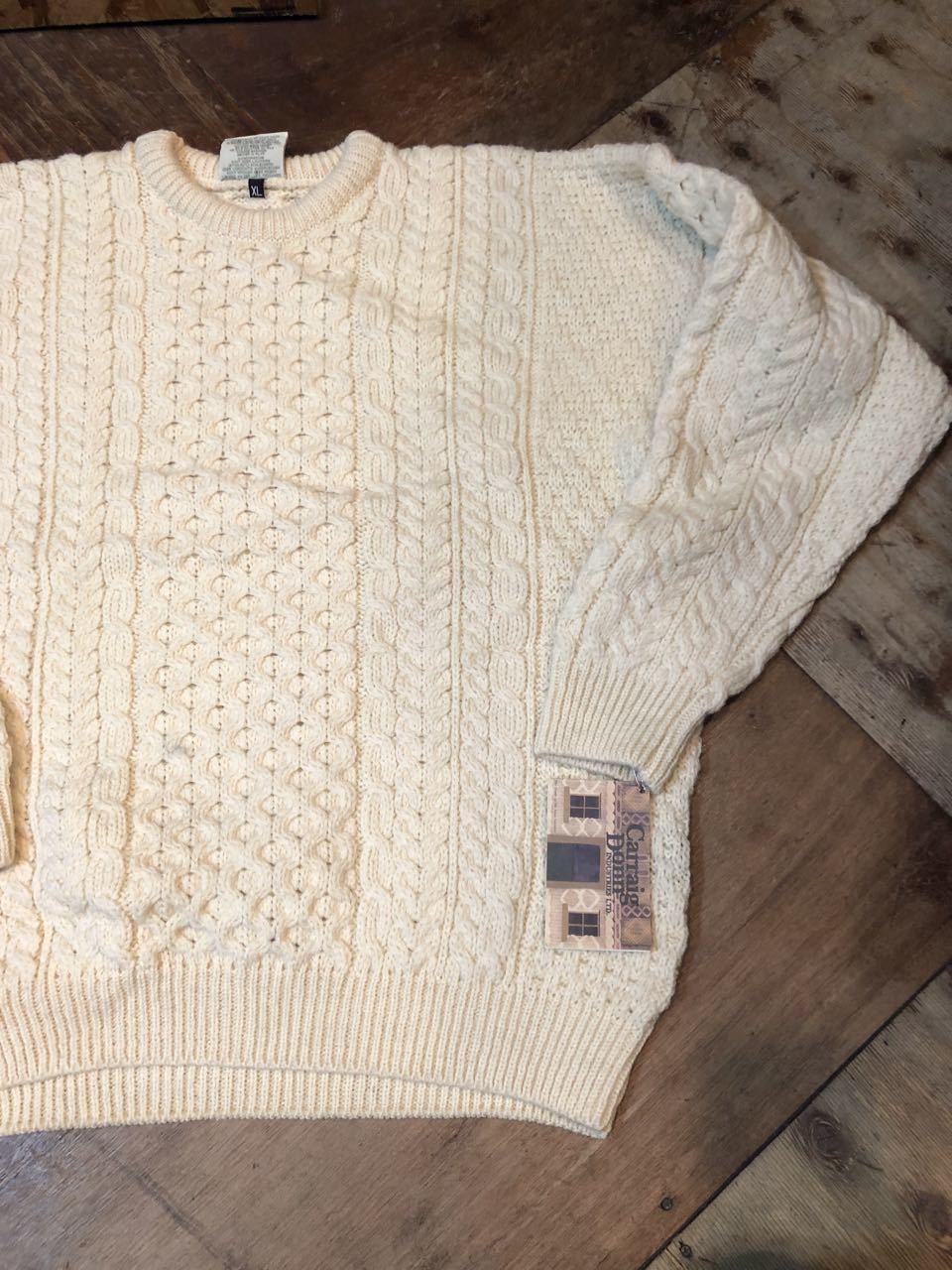 12月7日(土)入荷!デッドストック MADE IN IRELAND ARAN セーター(フィッシャーマンズセーター)など色々入荷!_c0144020_13543887.jpg