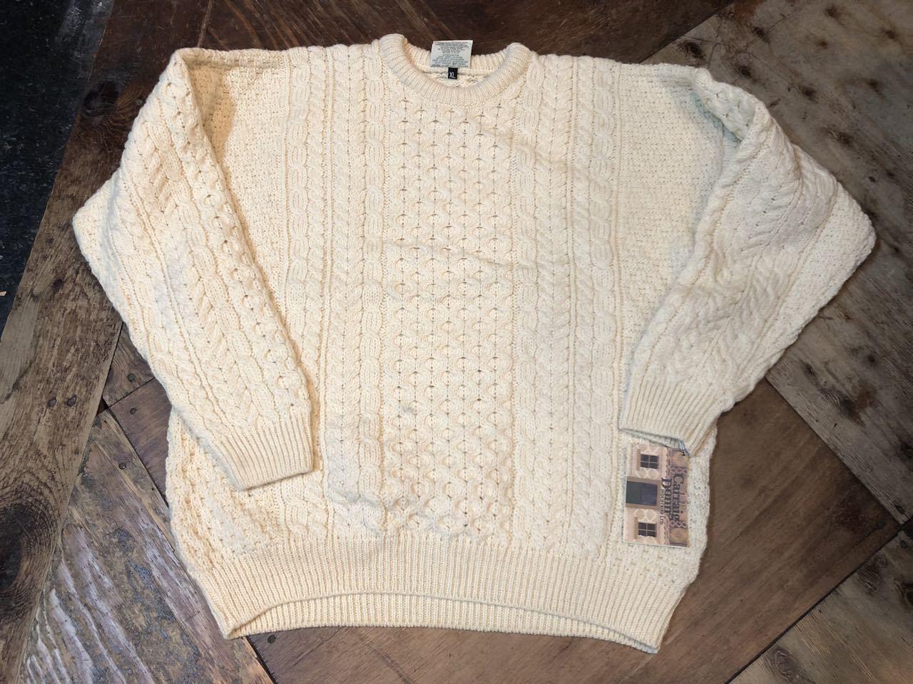 12月7日(土)入荷!デッドストック MADE IN IRELAND ARAN セーター(フィッシャーマンズセーター)など色々入荷!_c0144020_13544105.jpg