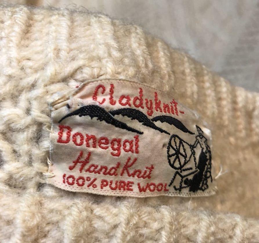 12月7日(土)入荷!デッドストック MADE IN IRELAND ARAN セーター(フィッシャーマンズセーター)など色々入荷!_c0144020_13564113.jpg