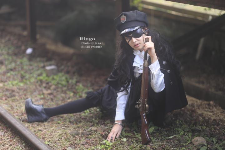 林檎 presents 廃線 × 軍服_f0253927_23322578.jpg