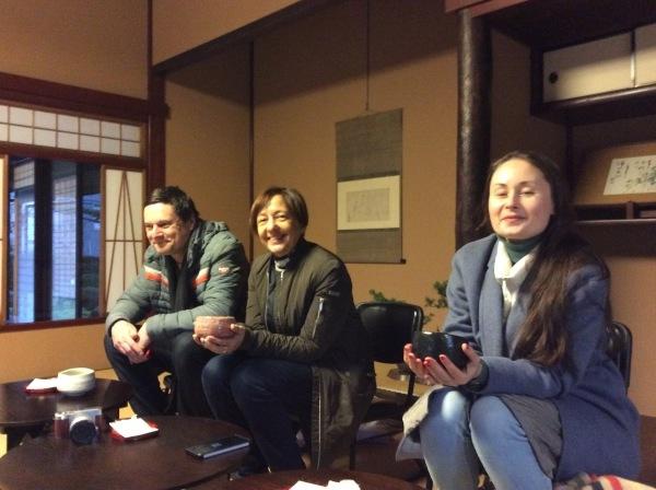 アナスタシアさんがボストン(アメリカ)の御客様と「芭蕉の館」を訪れました。_f0289632_17501183.jpg
