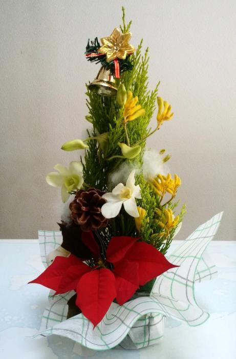 12月のアレンジボランティア_c0038434_16052466.jpg