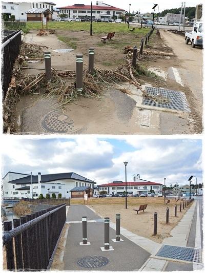 ご支援ありがとうございました。台風19号から2ヶ月の野田村_c0259934_15364682.jpg