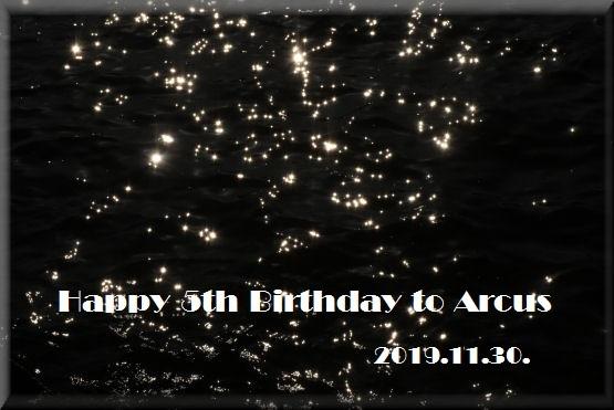 アルクスの5歳を祝う #2_f0363141_14171301.jpg