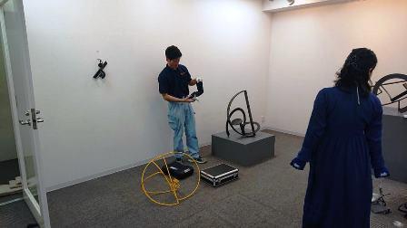 作業日誌(「武田亜希子展」作品(金属彫刻)運搬搬入作業)_c0251346_17175437.jpg