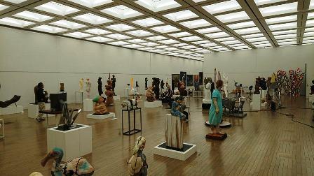 作業日誌(「第73回二紀会展」彫刻部作品搬入展示作業)_c0251346_17402982.jpg