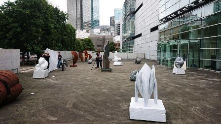 作業日誌(「第73回二紀会展」彫刻部作品搬入展示作業)_c0251346_17404614.jpg