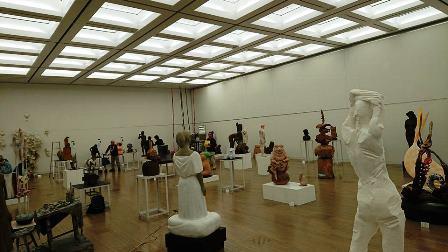 作業日誌(「第73回二紀会展」彫刻部作品搬入展示作業)_c0251346_17405508.jpg