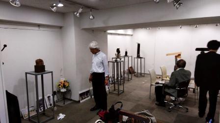 作業日誌(「池川敏幸・池川直 彫刻二人展」作品搬入陳列作業)_c0251346_18325353.jpg