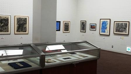 作業日誌(「第60回記念 日本版画会展」の作品展示作業)_c0251346_18450270.jpg