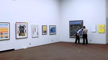作業日誌(「第60回記念 日本版画会展」の作品展示作業)_c0251346_18451482.jpg