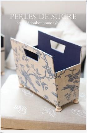 自宅レッスン コスメスタンド マガジンラック ブック型の箱 三角蓋の実用ダストボックス_f0199750_21320453.jpg