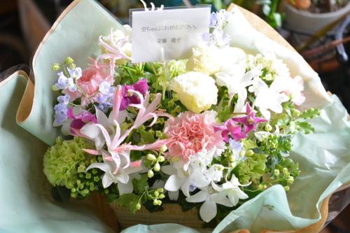 嬉しい林檎とお花♪_b0307951_22114870.jpg