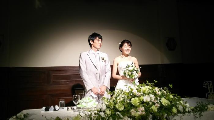 今年も社員の結婚式に招かれで(pq´∀`)┌iiiiii┐(´∀`pq)゚゚_e0009056_12301882.jpg