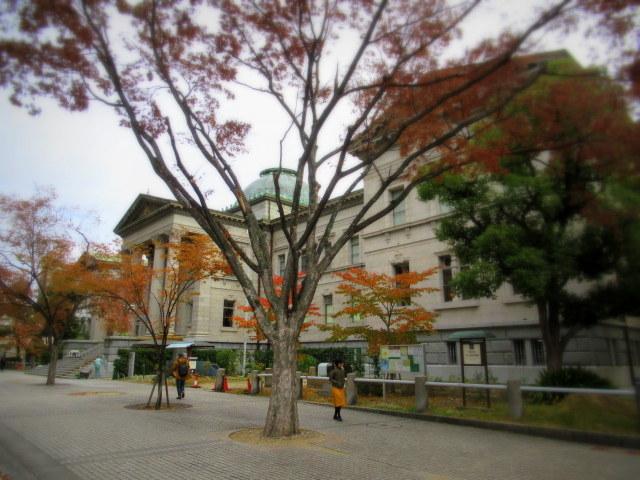 大阪紅葉さんぽ * 淀屋橋・中之島_f0236260_21255838.jpg