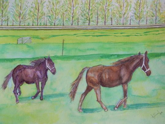 '19,12,6(金)心の絵と馬と小雪ちゃんの絵!_f0060461_10261858.jpg