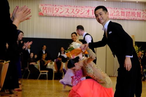 皆川ダンススタジオ開設10周年記念パーティー_c0217266_13061836.jpg