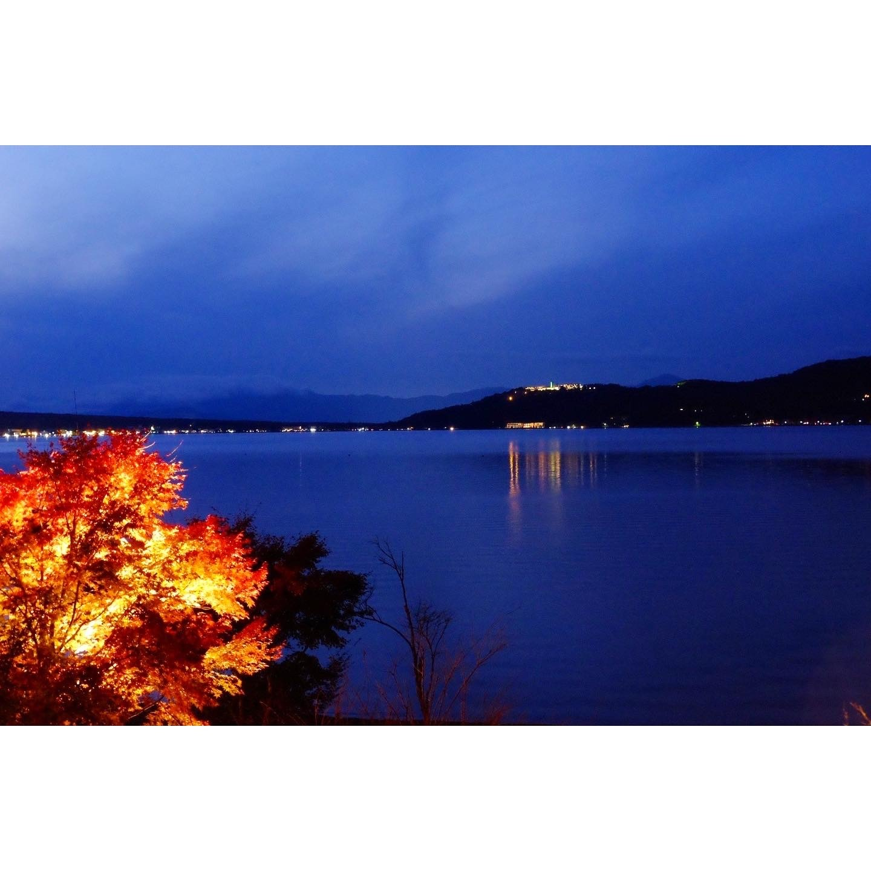 夕焼けの渚 紅葉祭り_a0335867_18444009.jpeg