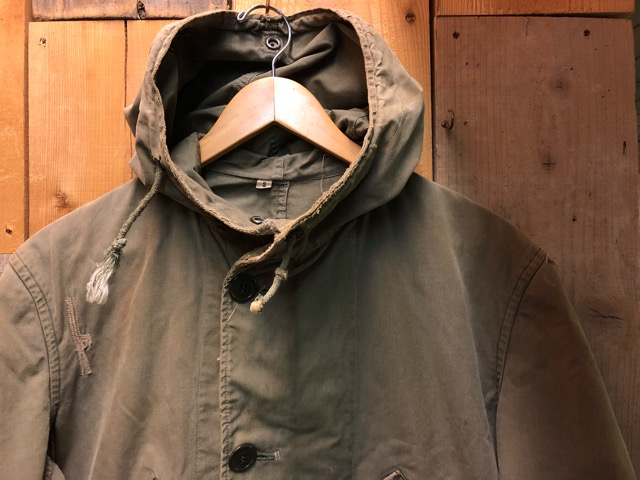 12月11日(水)大阪店ヴィンテージ入荷日!!#1 U.S.Army Part1編!! Prisoner of War M-41 & MountainParka, MackinawCoat!!_c0078587_14132834.jpg