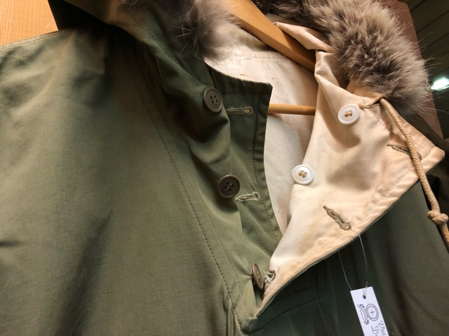 12月11日(水)大阪店ヴィンテージ入荷日!!#1 U.S.Army Part1編!! Prisoner of War M-41 & MountainParka, MackinawCoat!!_c0078587_1495839.jpg