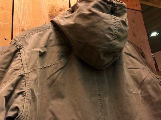 12月11日(水)大阪店ヴィンテージ入荷日!!#1 U.S.Army Part1編!! Prisoner of War M-41 & MountainParka, MackinawCoat!!_c0078587_15393315.jpg