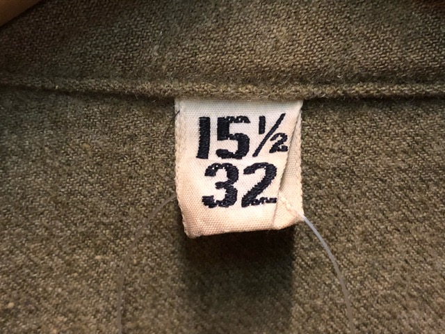 12月11日(水)大阪店ヴィンテージ入荷日!!#1 U.S.Army Part1編!! Prisoner of War M-41 & MountainParka, MackinawCoat!!_c0078587_17531368.jpg