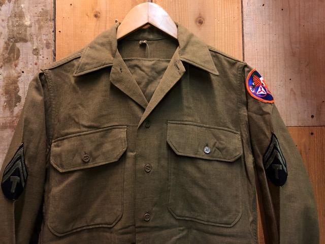 12月11日(水)大阪店ヴィンテージ入荷日!!#1 U.S.Army Part1編!! Prisoner of War M-41 & MountainParka, MackinawCoat!!_c0078587_1754052.jpg