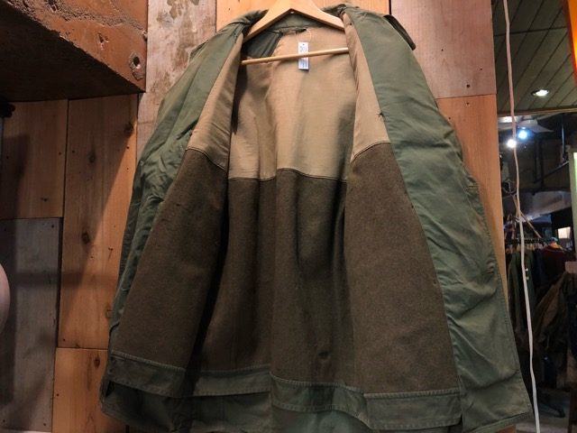 12月11日(水)大阪店ヴィンテージ入荷日!!#1 U.S.Army Part1編!! Prisoner of War M-41 & MountainParka, MackinawCoat!!_c0078587_189067.jpg