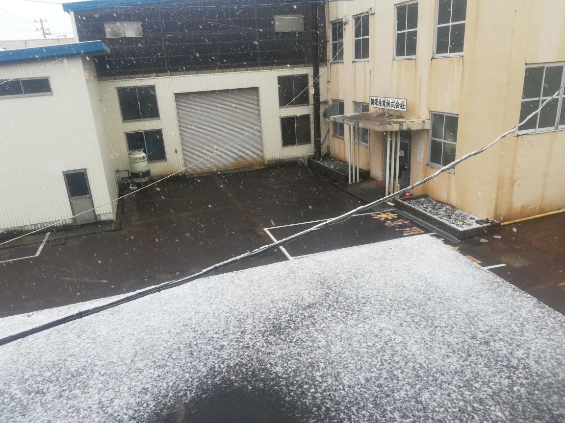 初雪です。_f0270296_13374062.jpg