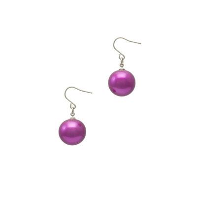 身につける漆 漆のアクセサリー チタン ユーロワイヤー ピアス 糖蜜珠 アネモネピンク色 坂本これくしょんの艶やかで美しくとても軽い和木に漆塗りのアクセサリー SAKAMOTO COLLECTION wearable URUSHI accessories pierce Molasses Jewel Anemone pink 女性が大好きな紫とピンクをミックス、夕闇の空をイメージした深みある輝きのピンクカラー、大人かわいい艶やかな丸い珠がゆらゆら揺れる珠、和木に漆塗りでボリュームがありながらも本当に軽くて着け心地が楽とご好評です。 #ピアス #糖蜜珠 #アネモネピンク色 #ピンクピアス #earring #pierce #PinkEarring #cute #MolassesJewel #AnemonePink #軽いピアス #チタンピアス