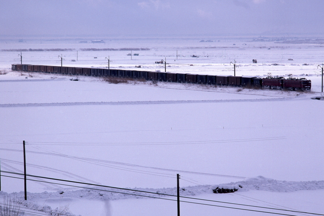 雪原を走る貨物列車 - 1984年・奥羽本線 -_b0190710_19174106.jpg
