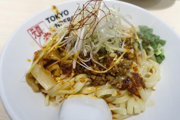 TOKYO UNDERGROUND RAMEN 頑者の担々和え麺再び_e0230011_16400099.jpg