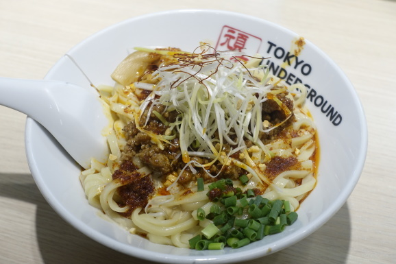 TOKYO UNDERGROUND RAMEN 頑者の担々和え麺再び_e0230011_16411332.jpg