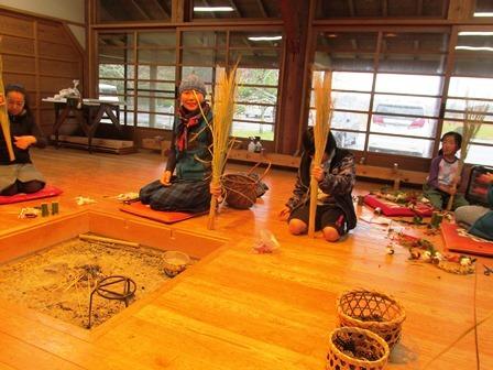 米作り3・ワラでリースを作ろう_a0123836_15364795.jpg
